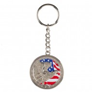 Assorted Troop Key Chains - Grey
