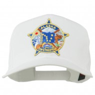 Alaska State Troopers Patch Cap - White
