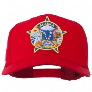 Alaska State Troopers Patch Cap - Red