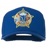 Alaska State Troopers Patch Cap - Royal