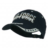 US Air Force Extreme Embroidery Military Cap - White