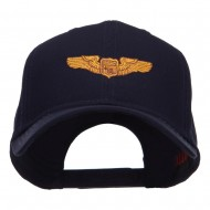 Astronaut Badge Embroidered Cap - Navy