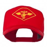 Air Wing IV Military Badge Embroidered Cap - Red