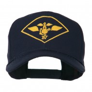 Air Wing IV Military Badge Embroidered Cap - Navy