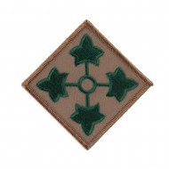 U.S Army Embroidered Military Patch - 4th