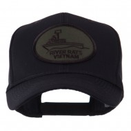 US Army Embroidered Military Patch Cap - River