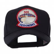 US Army Embroidered Military Patch Cap - 501