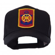 US Army Embroidered Military Patch Cap - 125th