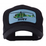 US Army Embroidered Military Patch Cap - Huey