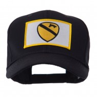 US Army Embroidered Military Patch Cap - 1st Cavalry