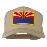 Arizona State High Profile Patch Cap - Khaki
