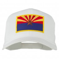 Arizona State High Profile Patch Cap - White