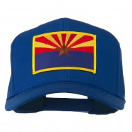 Arizona State High Profile Patch Cap - Royal