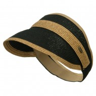 Toyo Braid Belt Buckle Visor - Black Toast
