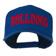Sports Team Bulldogs Embroidered Cap - Royal