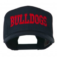 Sports Team Bulldogs Embroidered Cap - Navy