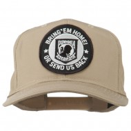 Bring Home Send Back Military Patched Cap - Khaki