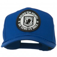 Bring Home Send Back Military Patched Cap - Royal