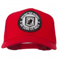 Bring Home Send Back Military Patched Cap - Red