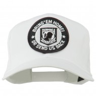 Bring Home Send Back Military Patched Cap - White
