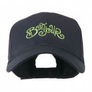 Bonjour French Embroidered Cap - Navy