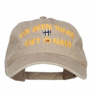 I've Been There Vietnam Embroidered Cap - Khaki