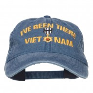 I've Been There Vietnam Embroidered Cap - Navy