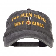 I've Been There Vietnam Embroidered Cap - Black