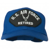 US Air Force Retired Symbol Patched Cap - Royal