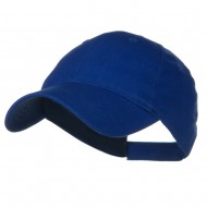 Youth Brushed Cotton Twill Low Profile Cap - Royal