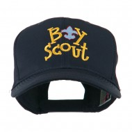 Boy Scout Logo Embroidered Cap - Navy