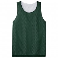 Men's Big Size Sport-Tek PosiCharge Classic Mesh Reversible Tank T-Shirt - Forest Green