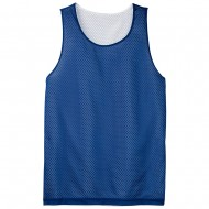 Men's Big Size Sport-Tek PosiCharge Classic Mesh Reversible Tank T-Shirt - True Royal
