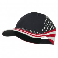 Stars and Stripes Flag Cap - Star
