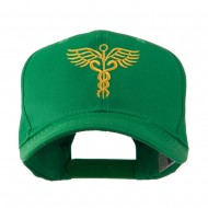 Original Medical Caduceus Outline Embroidered Cap - Kelly