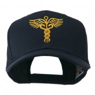 Original Medical Caduceus Outline Embroidered Cap - Navy
