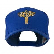 Original Medical Caduceus Outline Embroidered Cap - Royal