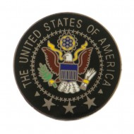 Cloisonne Enamel Military Pins - USA Seal