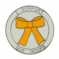Cloisonne Enamel Military Pins - Support Troops