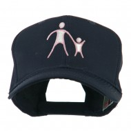 Cancer Hope Logo Embroidered Cap - Navy