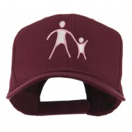 Cancer Hope Logo Embroidered Cap - Maroon