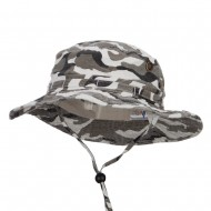 Camouflage Washed Hunting Hat - City Camo