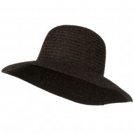 Chenille Hat with Sequins - Brown