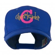 Logo C with Cheerleader Words Embroidered Cap - Royal