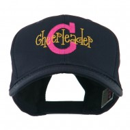 Logo C with Cheerleader Words Embroidered Cap - Navy