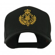 Canadian Air Force Badge Outline Embroidered Cap - Black