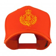 Canadian Air Force Badge Outline Embroidered Cap - Orange
