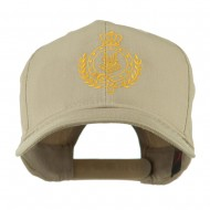 Canadian Air Force Badge Outline Embroidered Cap - Khaki