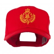 Canadian Air Force Badge Outline Embroidered Cap - Red