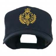 Canadian Air Force Badge Outline Embroidered Cap - Navy